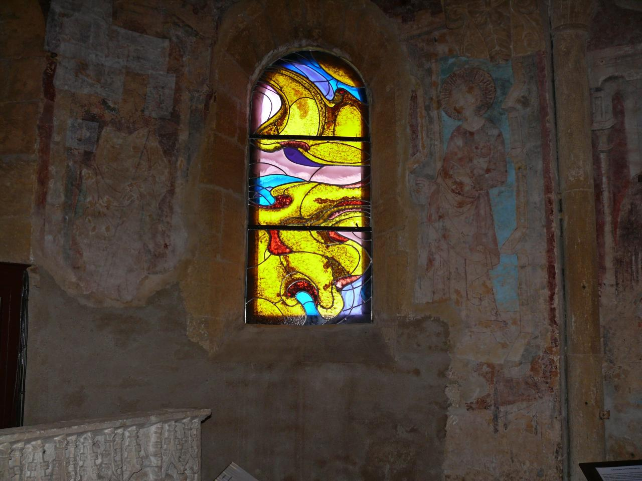 Fresques du XVe siècle