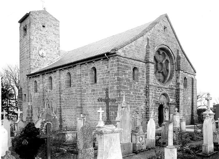L'église au début du XXe siècle.